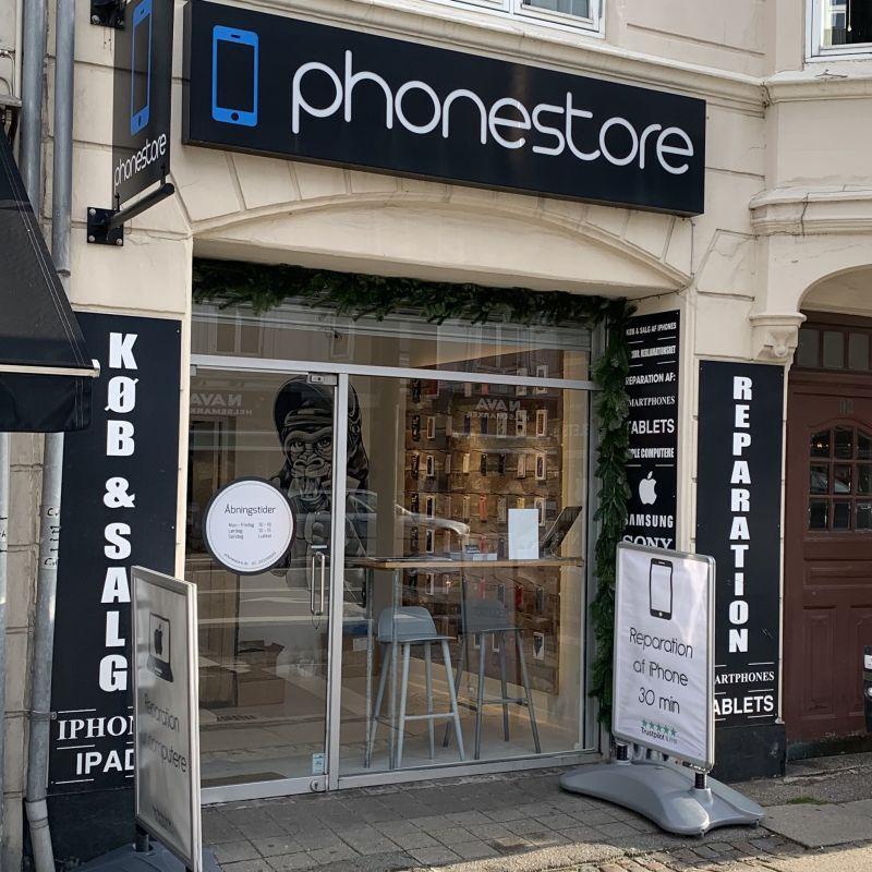 Phonestore på Strandvejen